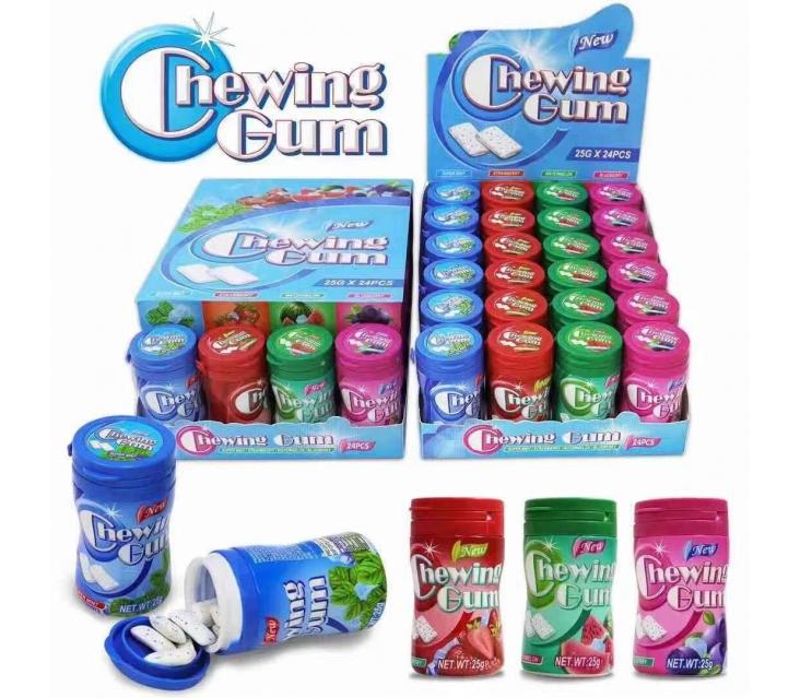 Chewing gum 24шт popup