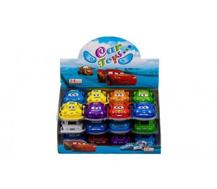 Joy Toy Тачки 24шт popup