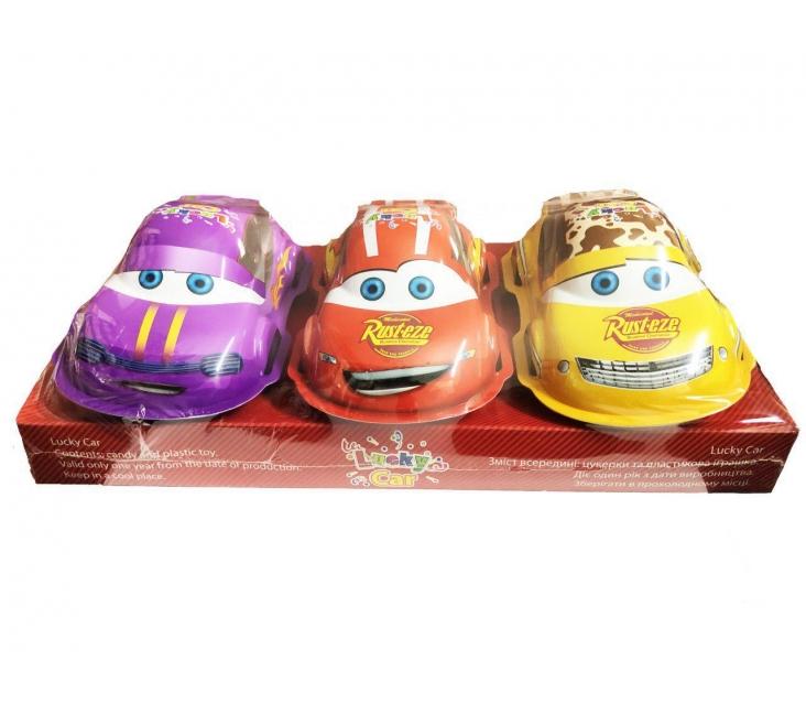 Машинки с конфетами popup
